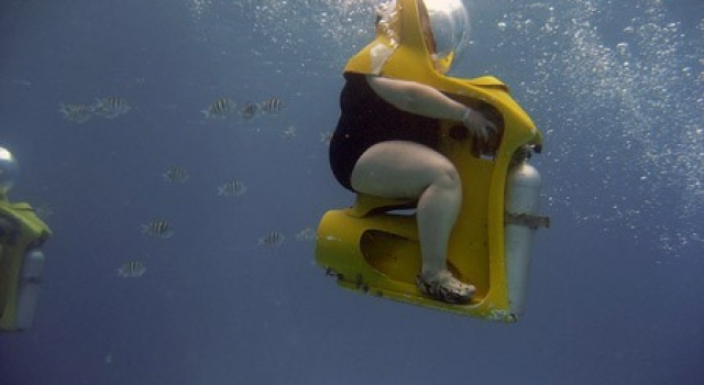 Funny Scuba Diving Picture