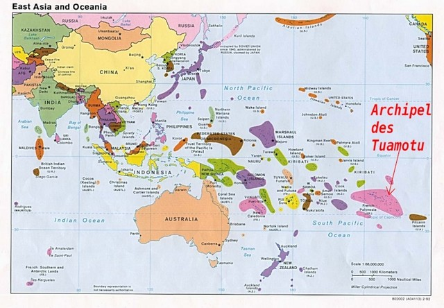 map of tuamotu