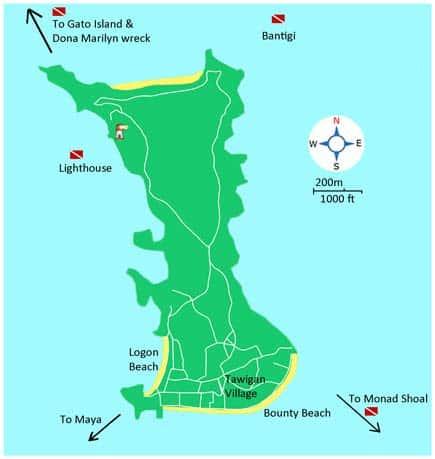 Znalezione obrazy dla zapytania malapascua island