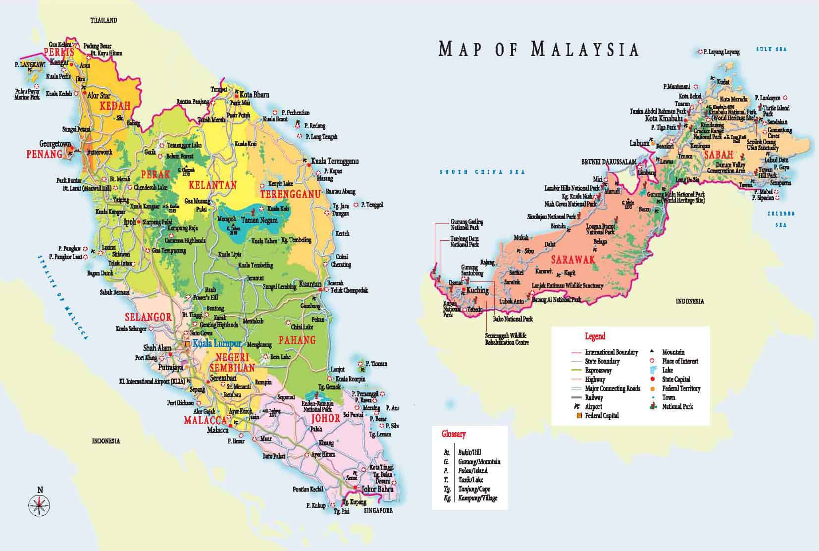 Travel tips things to do map and best time to visit malaysia