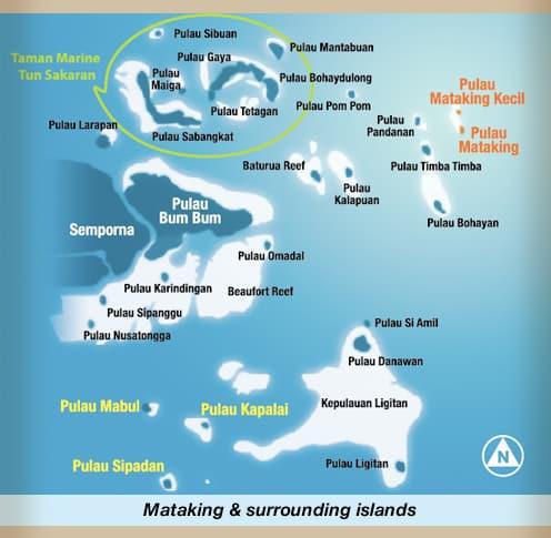 mataking map