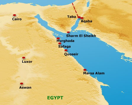 Red Sea Travel Tips Things To Do Map And Best Time To Visit Red Sea - Map of egypt red sea area