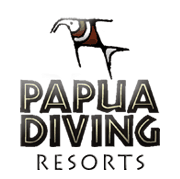 sorido bay logo from papua diving