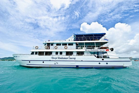 deep andaman queen liveaboard diving cruise similan islands