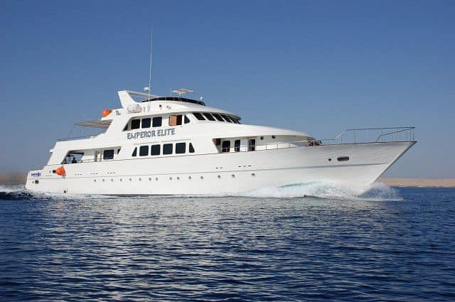 MY Emperor Elite luxury liveaboard red sea