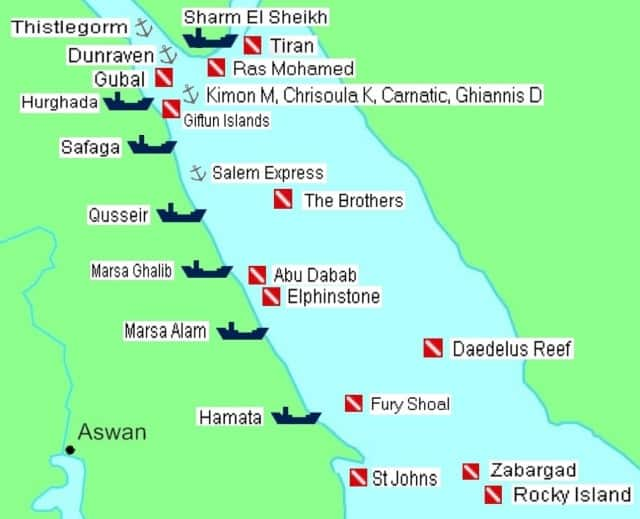 The northern part of the Red Sea is filled with famous wrecks that will surely make your dive adventure more exciting and action-packed!