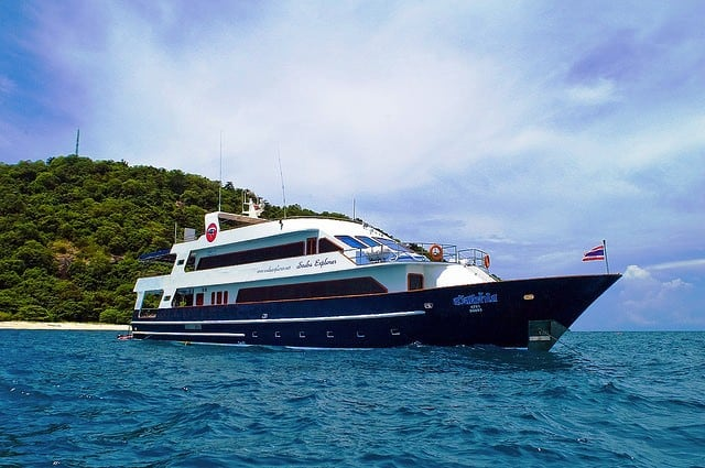 MV Scuba Explorer Luxury Liveaboard Similan Islands