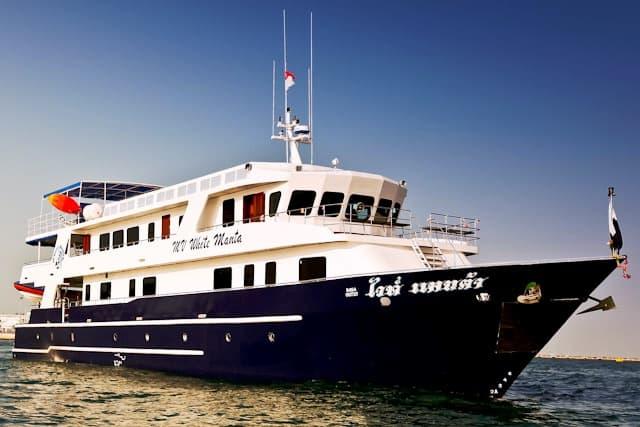MV White Manta similan island liveboard