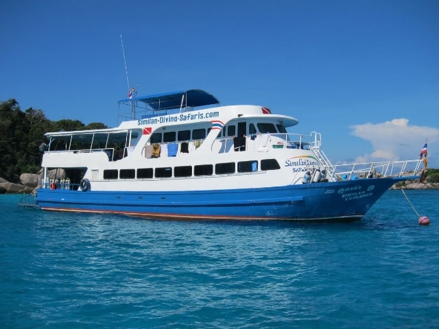 Similan island liveaboard