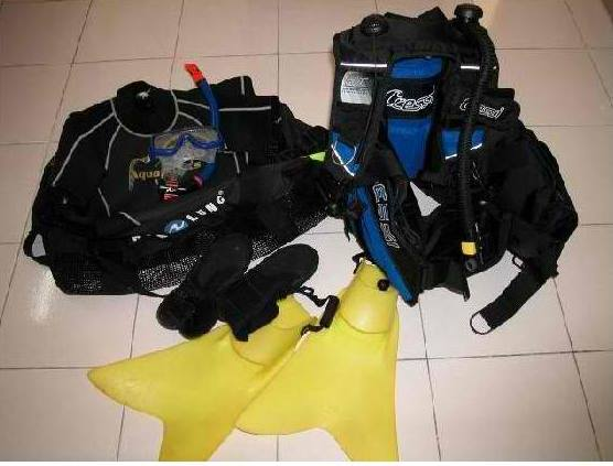It's always practical and economical to bring your own SCUBA diving gears, if you already got one.