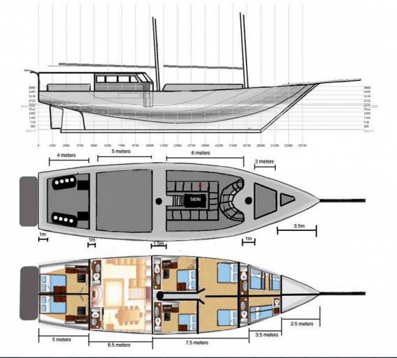 Liveaboard Boat Calico Jack