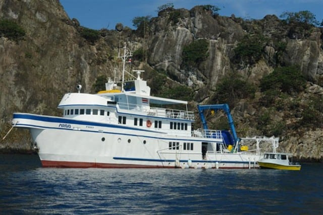 this is the argo liveaboard review in cocos island