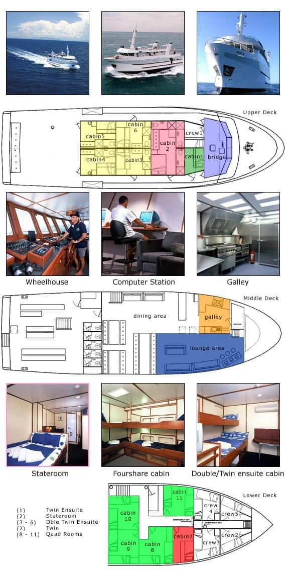taka liveaboard vessel layout