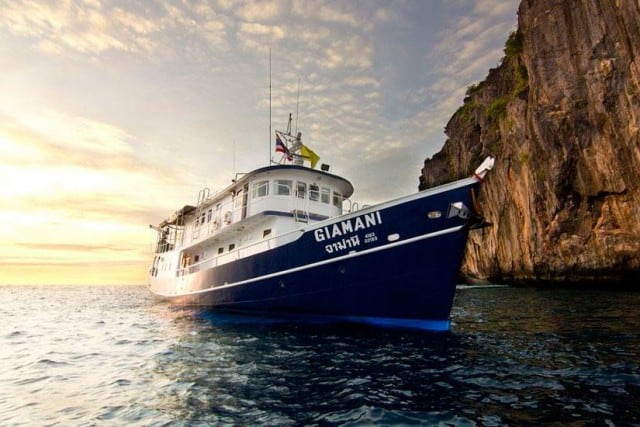 giamani budget liveaboard similan islands