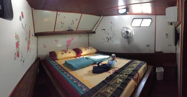 MV Miss Moon Master Cabin