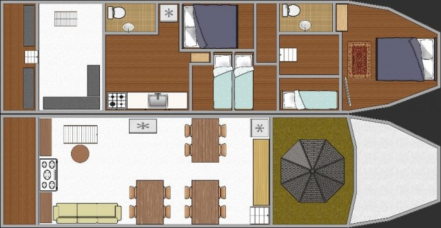 MV Miss Moon Deck Plan
