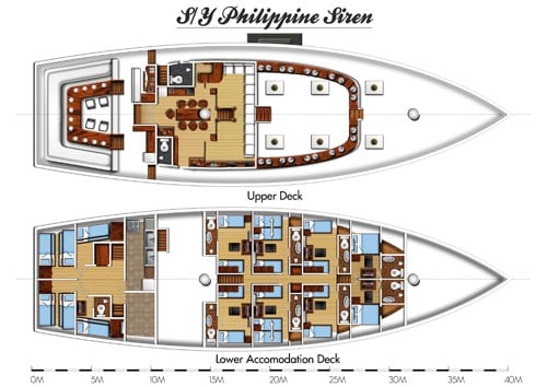 philippine-siren-liveaboard-layout