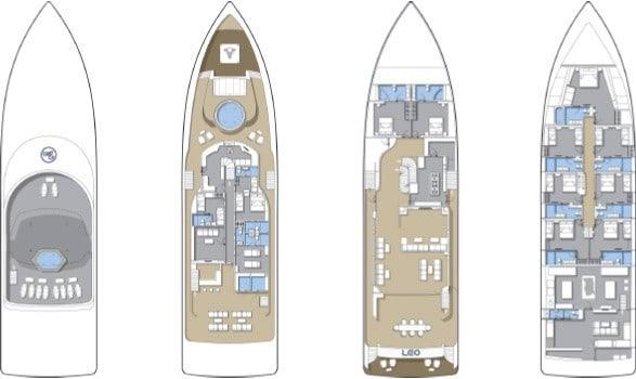 MV Blue Force One Deck Plan