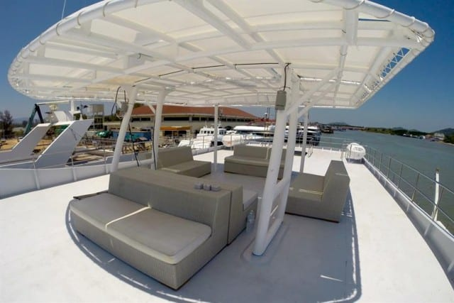 MV Diverace Class E Sun Deck