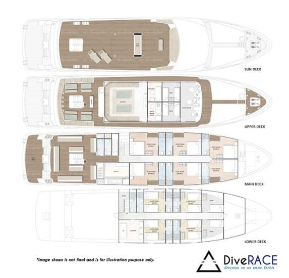 MV Diverace Floor Plan