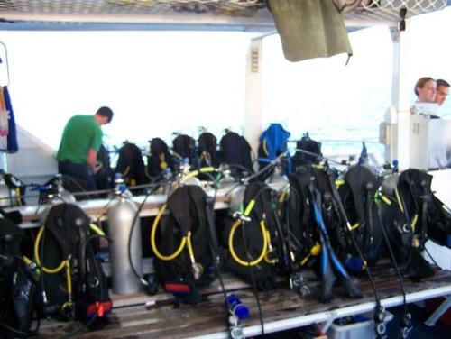 MV Scubapro III Dive Deck