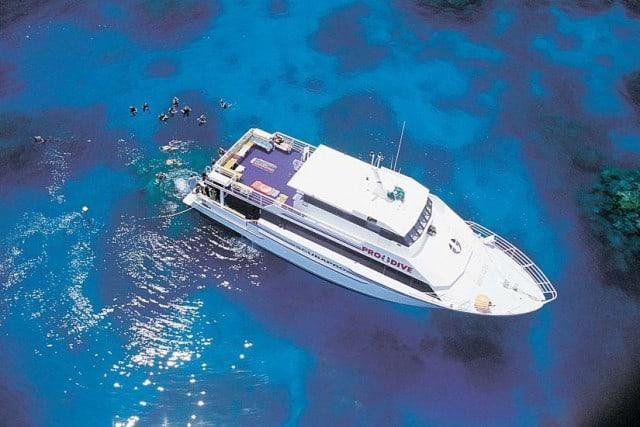 MV Scubapro III budget liveaboard great barrier reef