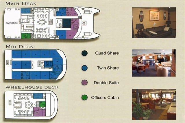 MV Ocean Quest (Australia) Deck Plan