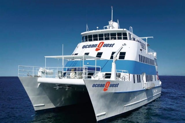 MV Ocean Quest cheap budget liveaboard great barrier reef