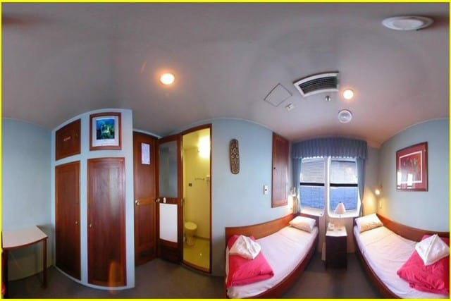 MV Ocean Quest (Australia) Twin Cabin