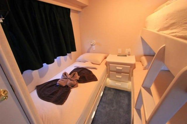mv avalon i bunk cabin liveaboard review