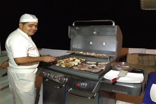 mv georgiana bbq liveaboard review