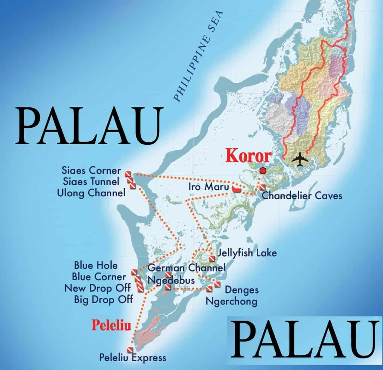 palau-liveaboard-itinerary
