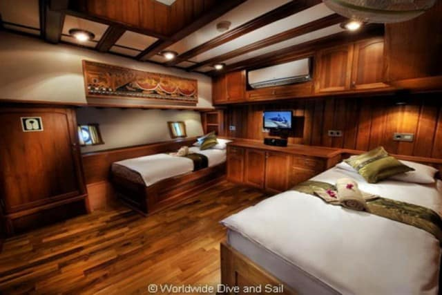 sy palau siren cabin liveaboard review