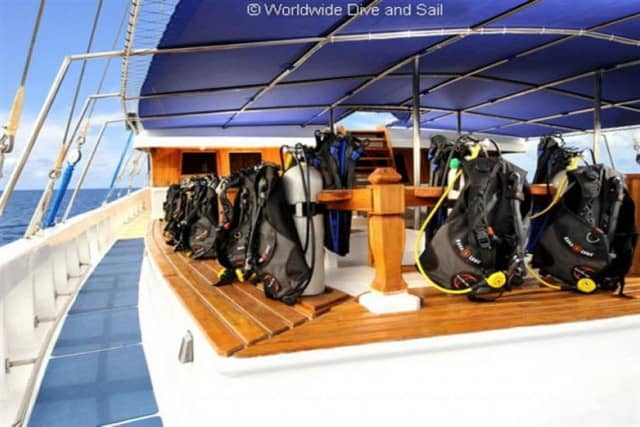sy palau siren saloon dive deck liveaboard review