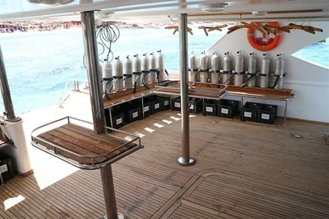 mv seawolf dominator dive deck liveaboard review