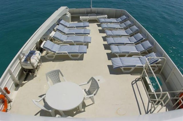 mv turks & caicos explorer sun deck liveaboard review