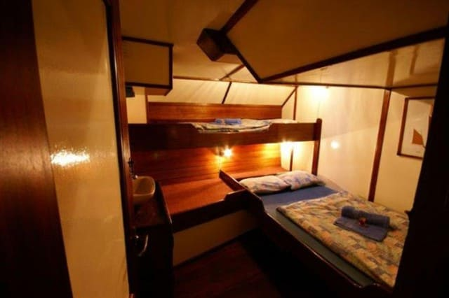 sy sea pearl cabin liveaboard review