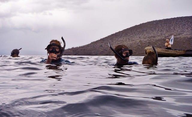 Snorkeling Galapagos Islands by pantxorama