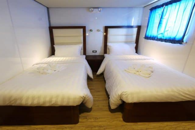 mv discovery palawan upper deck twin cabin liveaboard review