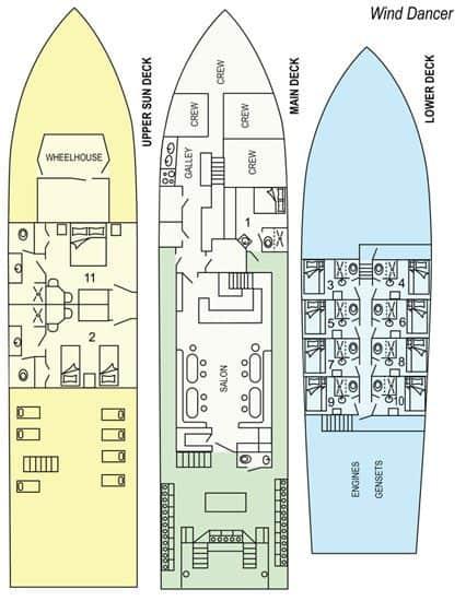 mv okeanos aggressor ii deck plan liveaboard review