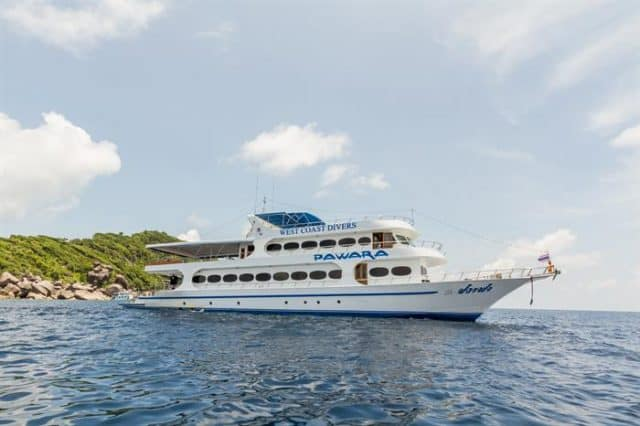 mv pawara budget liveaboard similan islands
