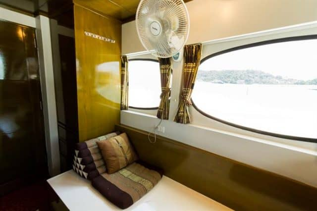 mv pawara master cabin liveaboard review