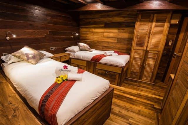 mv samambaia twin cabin liveaboard review