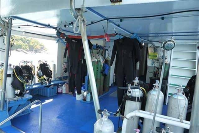 mv similan explorer dive deck liveaboard review