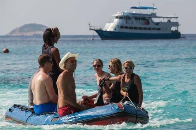 mv similan explorer dive tender liveaboard review
