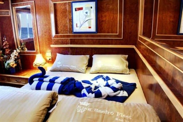 mv snefro love double cabin liveaboard review