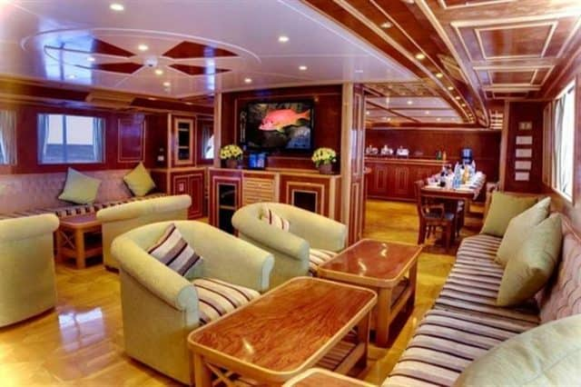 mv snefro love salon liveaboard review
