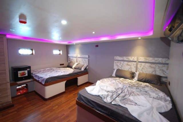 mv soleil 2 standard cabin liveaboard review