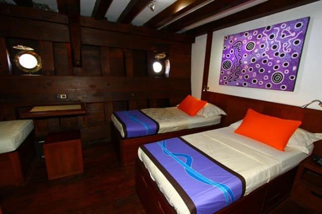 mv waow standard cabin liveaboard review