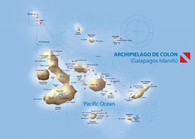 galapagos sky liveaboard itinerary